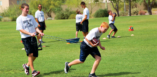Let It Fly Football Camp