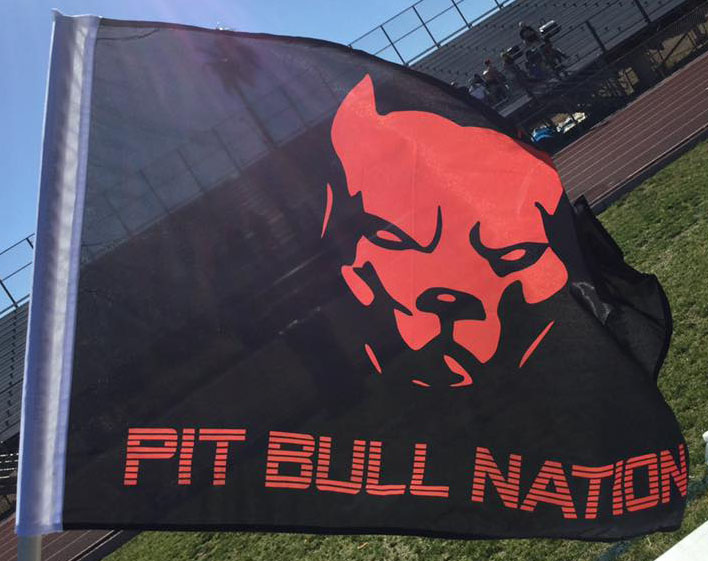 West Valley Pitbulls Nation Flag